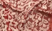 Деворе, как способ декорирования тканей, превращающий их в прекрасное живописное полотно. Только для женщин