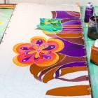 Ткань для батика: выбор лучшего материала с подходящими характеристиками для росписи