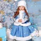 Наряд Снегурочки для малышки самостоятельно – вы удивитесь, как это легко