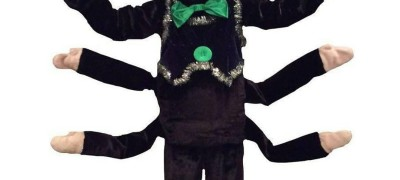 Костюм паука с движущимися или съемными лапами. Две необычные идеи по изготовлению