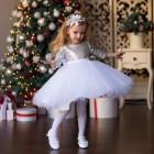 Две идеи костюма снежинки для самостоятельного изготовления. Платье «Туту» без единого стежка и наряд с пышной юбкой