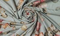 Купонная ткань: красота и притягательность материала с объемным рисунком