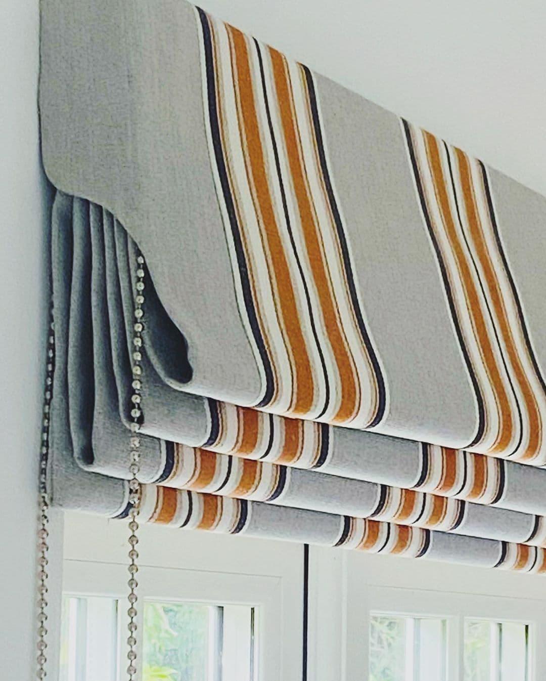 Римская рулонная штора
