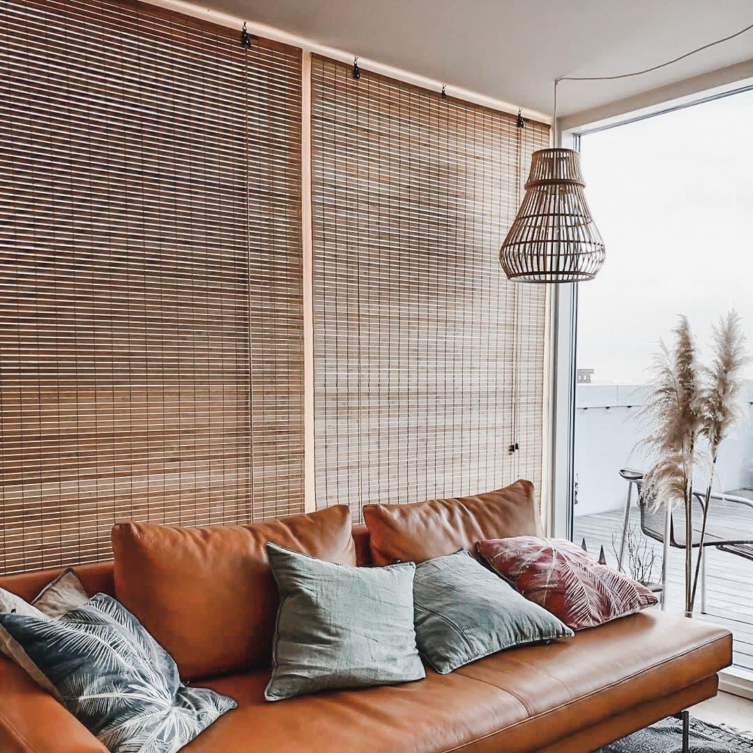 Рулонная штора бамбуковая