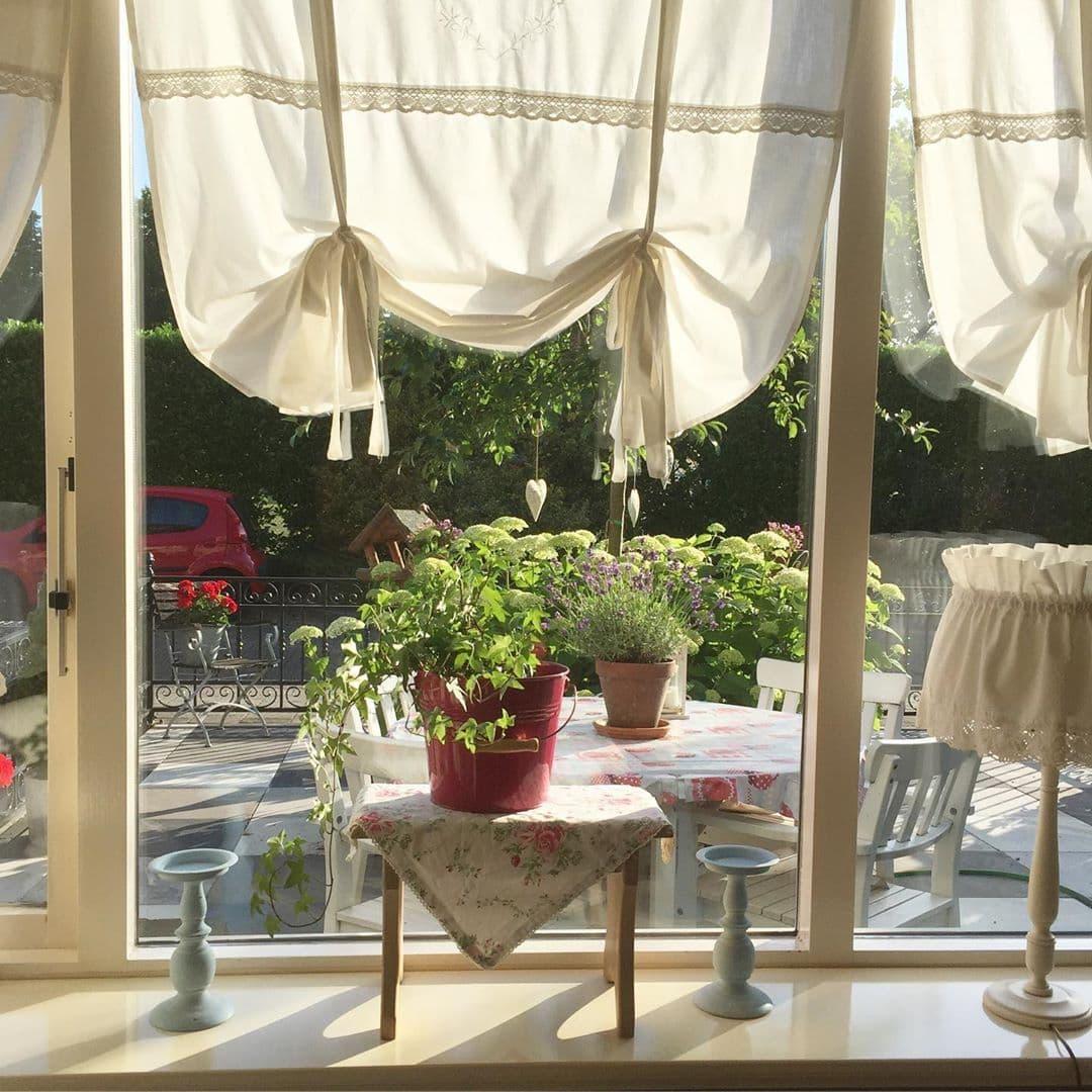 Французкая рулонная штора