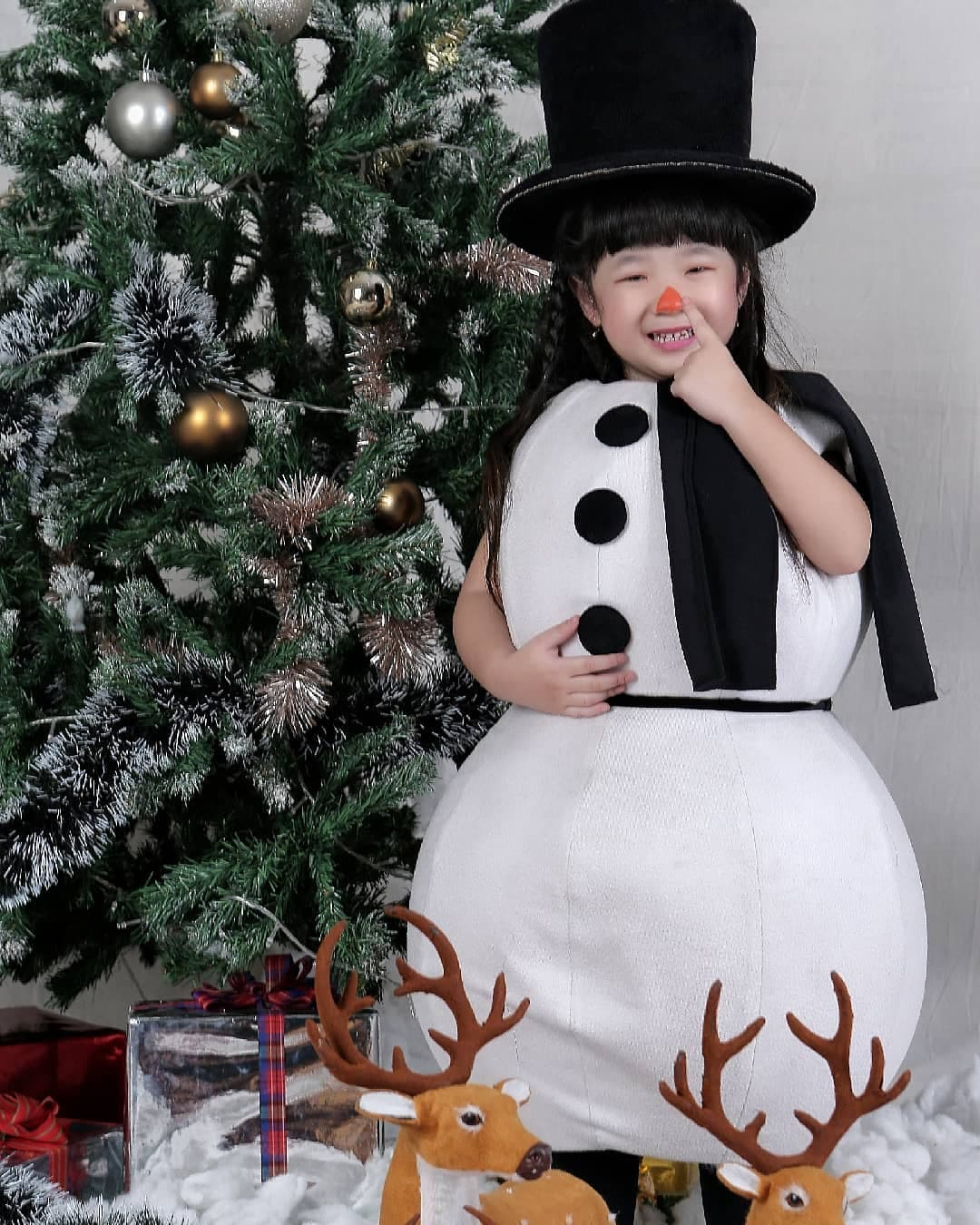 Милый снеговик