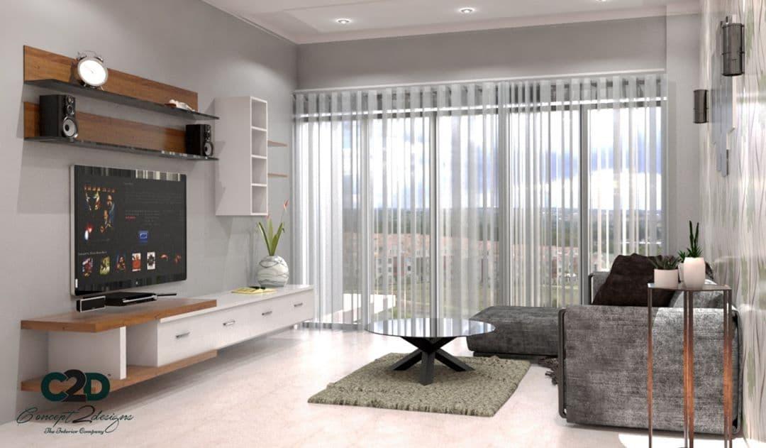 Оформление гостиной шторами на люверсах. Идеи для больших и маленьких, темных и светлых комнат
