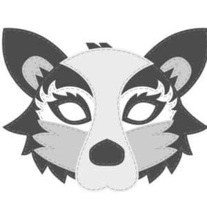 Схема маски для нового года